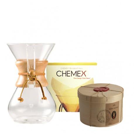 Pack Chemex 6 tasses