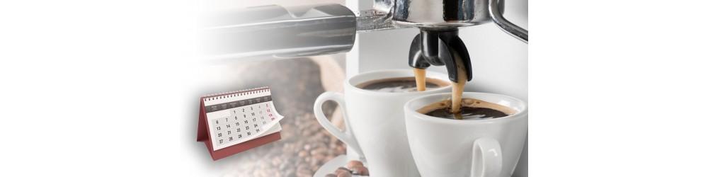 Abonnement annuel de café