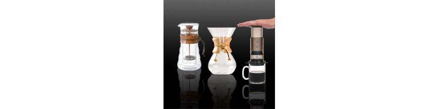 Cafetières en méthode douce