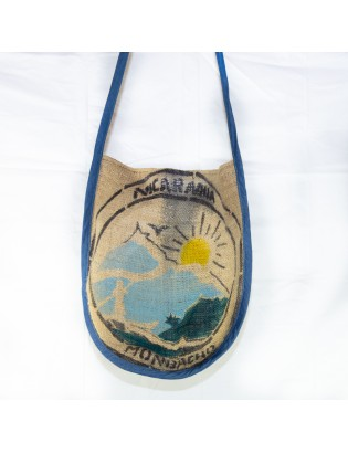 Sac besace rond